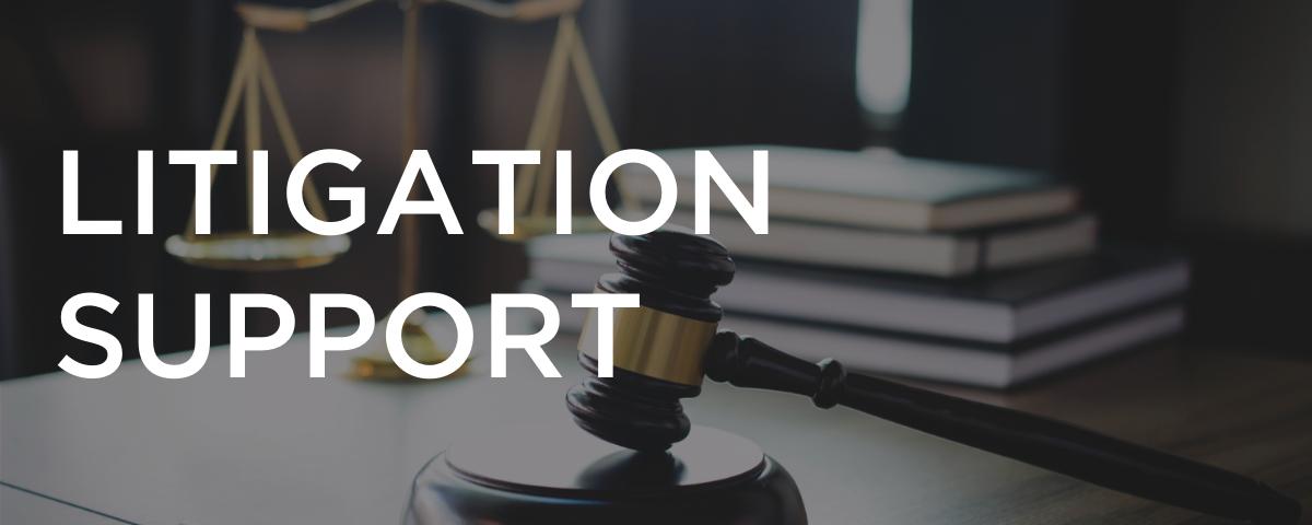 Litigation Support Header
